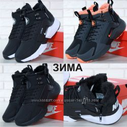 Зимние мужские кроссовки ботинки Nike Huarache X Acronym City Winter