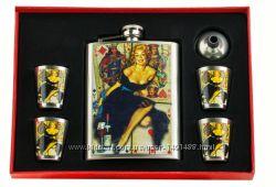 Набор с флягой Marilyn Monroe 8 oz 240 мл