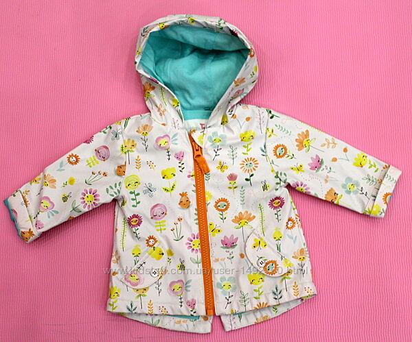 Детская куртка дождевик плащ ветровка