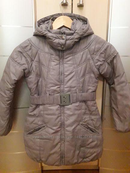 Пальто деми на 6-7лет