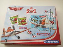 Новая игра 2 в 1 от Disney Planеs фирма Clementoni от 3 лет
