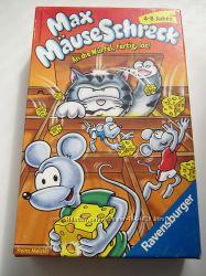 Бу немецкая игра Max M&aumluseschreck mini от Ravensburger 4-8 лет