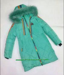 Зимняя куртка для девочки р. 44
