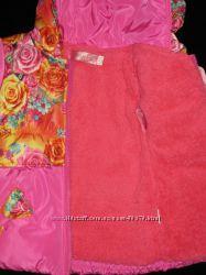 Демесезонная куртка цветочный принт и Kiko и DONILO