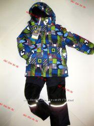 Зимний термокомбинезон для мальчика   Kiko 4614Б