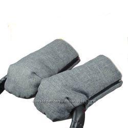 Муфта-рукавицы на овчине 3 в 1