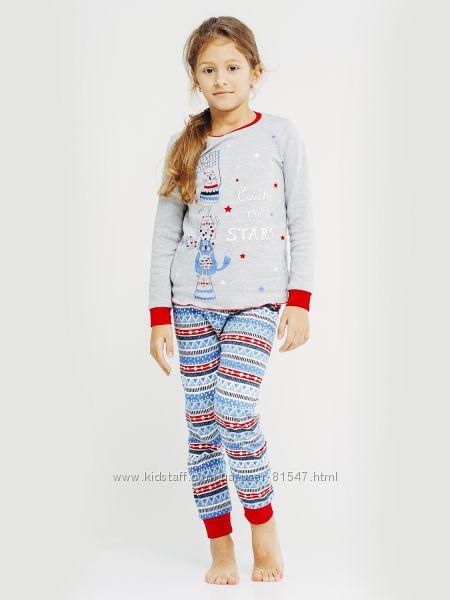 Пижама для девочки смил 122, 128, 134 тм Смил