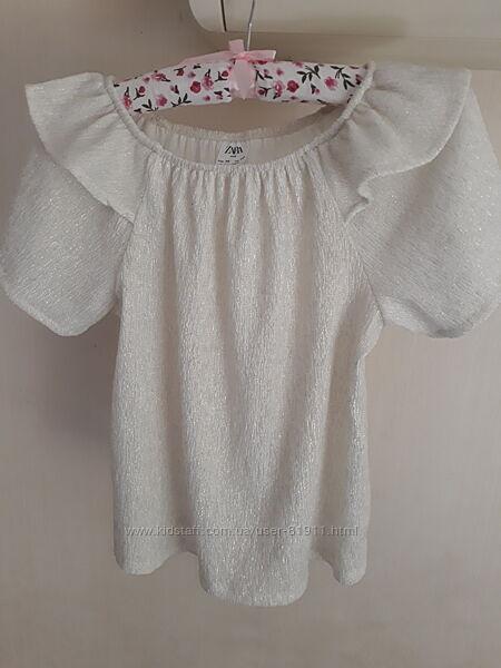 Блуза Zara в отличном состоянии р 140
