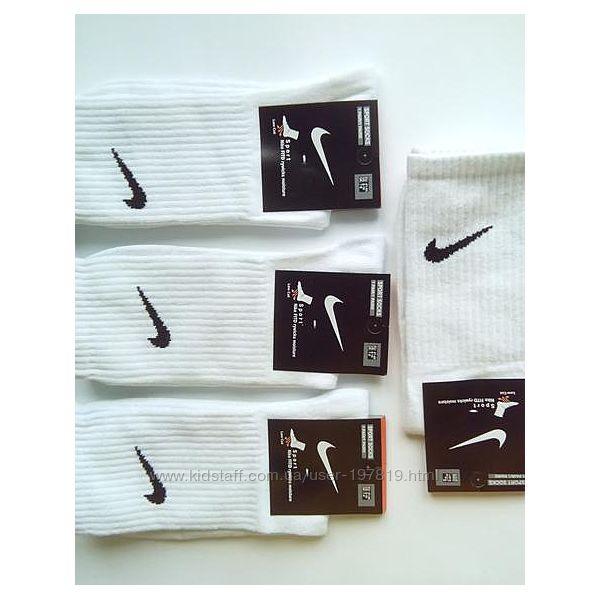Спортивные высокие мужские, женские носки Nike. Набор носков 12 пар.