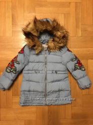 Куртка зимняя на меху для девочек 6-12 три цвета