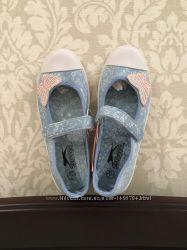 Фирменные балетки Slazenger для девочки 34 размер Англия