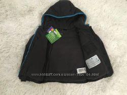 Демисезонная курточка на синтепоне с флисовой подкладкой на 4-5 лет