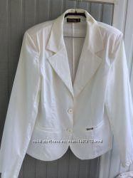 Новый котоновый пиджак, р. 52, Италия