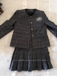 Школьный костюм пиджак и сарафан