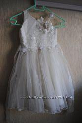 Новогоднее платье принцессы 5-7 лет