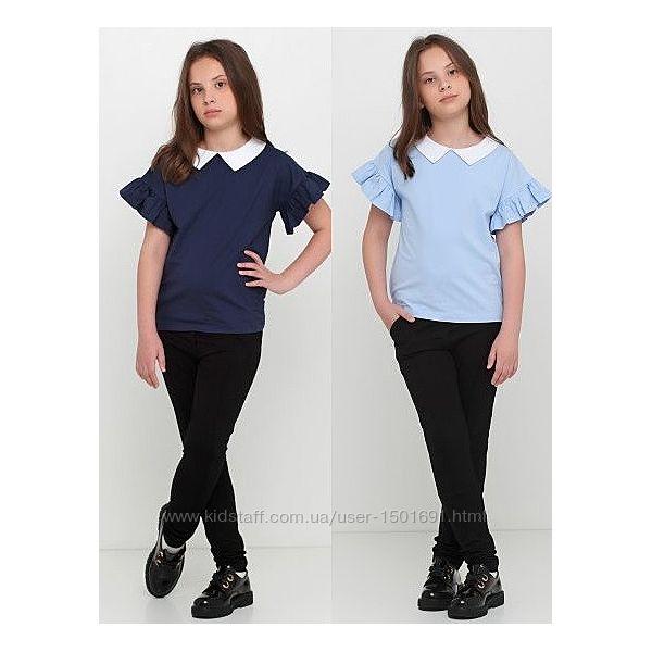 Блуза - футболка для девочки подростка. Отменное качество.