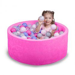 Бассейн для дома сухой детский розовый