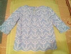 Красивая кофточка блузка вышиванка Next