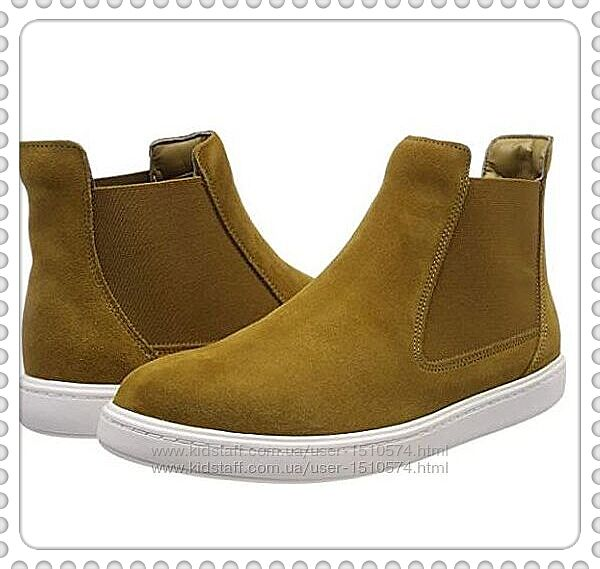 Clarks  замшевые ботинки Челси размер 37.5, 38,  Оригинал
