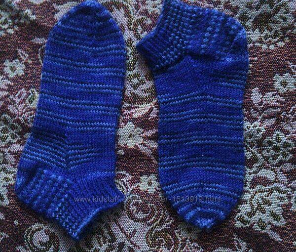 Новые вязаные укороченные носки. Размер 29