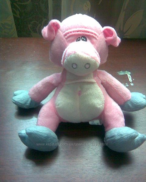 Мягкая игрушка Розовая свинка