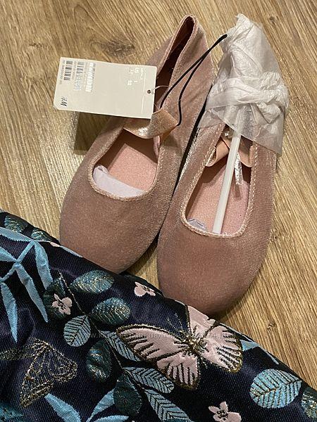 Нарядные балетки H&M 32р