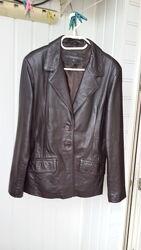 River island натуральный кожаный пиджак куртка кожа