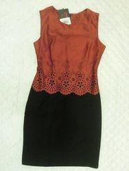 Стильное и утонченное платье р. 46