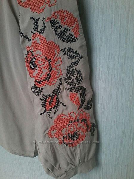 Блуза вышиванка новая разм. 46 L