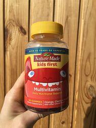 Витамины для детей, детские витамины Nature Made 90 шт