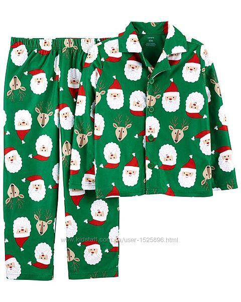 Новогодняя пижама на флисе