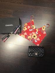 Кроп топ в цветочный принт H&M новый