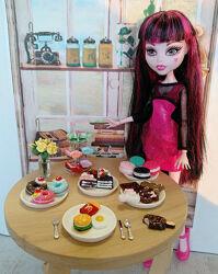 Посуда миниатюра еда для куклы Лол омг, Барби, МонстерХай, LOL OMG