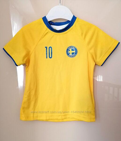 Новая футболка h&m на рост 86 см, 1-2г.