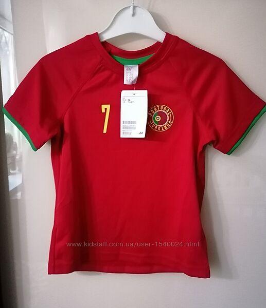Новая футболка h&m, 92 см, 1,5-2,5 г.