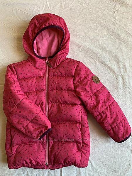 Куртка Quechua розовая 110 116 на 5 лет