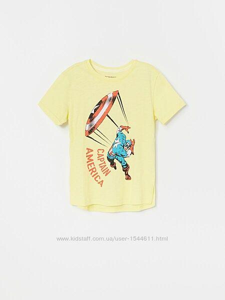 Футболка Капитан Америка р. 152