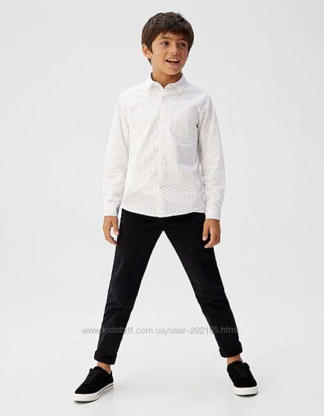 Крутая рубашка MANGO kids Рост-140 см, В идеальном состоянии