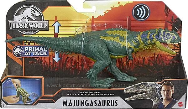 Мир Юрского Периода Майюнгазавр Jurassic World Sound Strike Majungasaurus