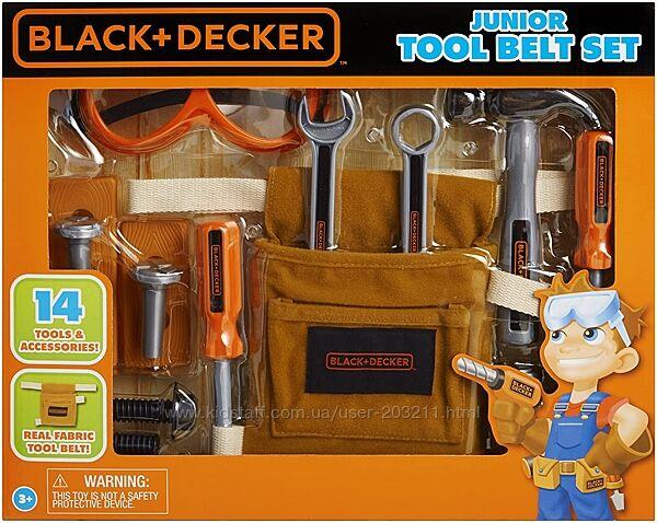 Набор для юных строителей Black and Decker Jr. 14-Piece Tool Belt Set