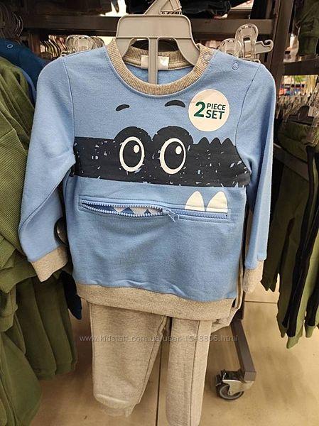 Костюм на мальчика, комплект для мальчика, штанишки и кофточка детская