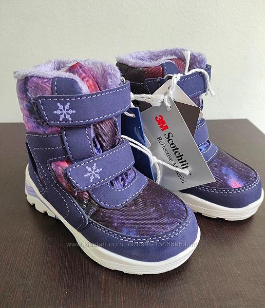 Тёплые ботинки, ботинки на девочку, ботинки lupilu, ботинки демисезонные
