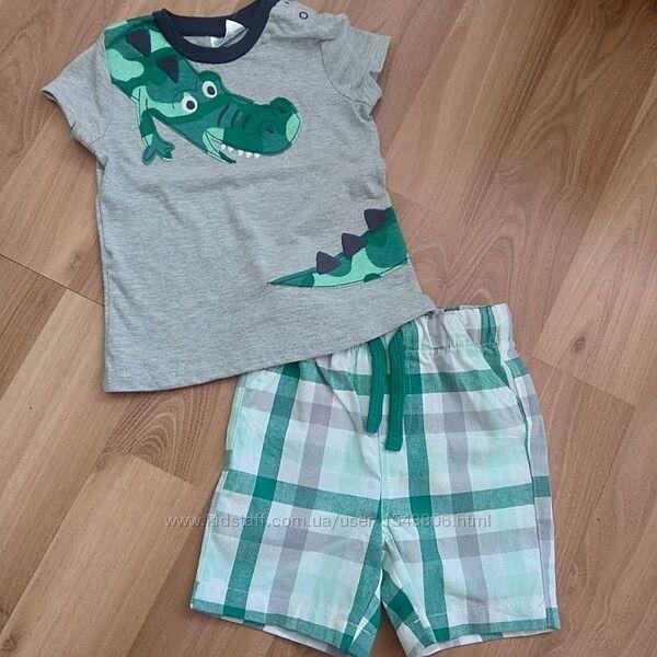 Костюм летний, костюм для мальчика, шорты и футболочка