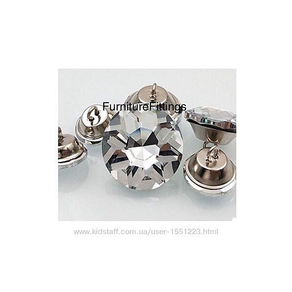 Мебельные пугоаицы Алмаз 18,20, 25,30мм