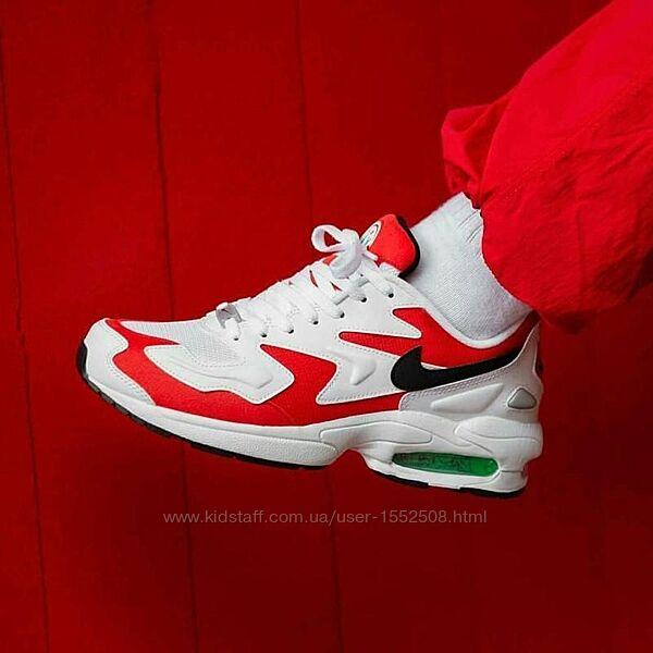 Nike air max 2 light кроссовки 44 обувь