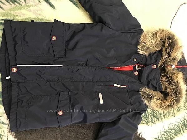 Зимняя куртка- парка Lenne рост 140