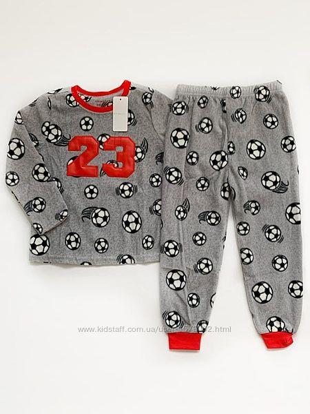 Пижама для мальчика гладкий флис primark, англия.