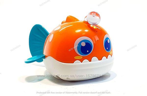 Игрушка для ванной для купания, с брызгалкой и подсветкой, Hola Toys