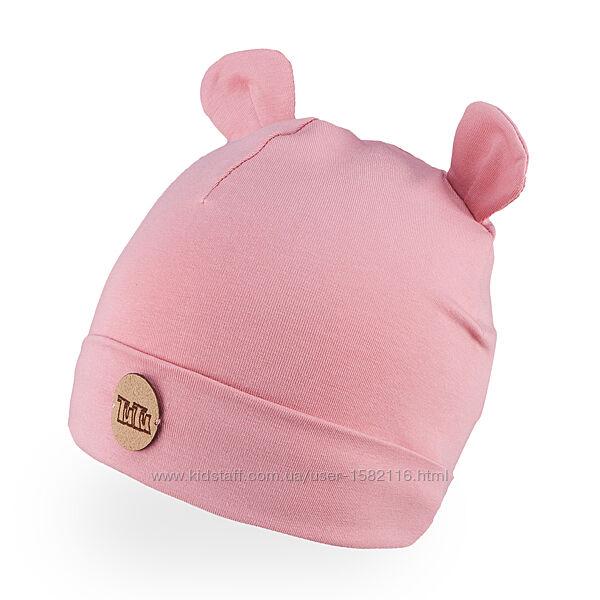 Весна-2021. Трикотажные шапки для девочек