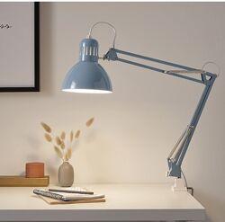 Лампа настольная белая Tertial Ikea Икеа 703. 554. 55 В наличии